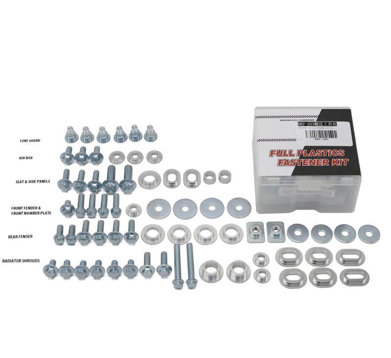 Kit completo de tornillos de plástico para motocicleta Yamaha YZ250F YZ450F YZF 250 450 estilo de fábrica