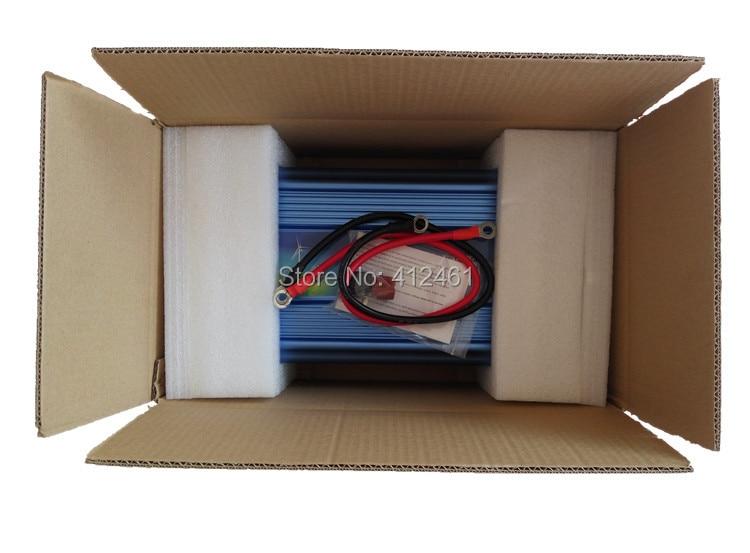 Inversor de pura Senoidal, inversor de pantalla Digital de onda sinusoidal pura 1500 W 1.5KW 1500 vatios DC 12v - AC 220V