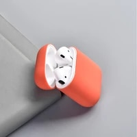 wireless bluetooth earphone case for airpods silicone case soft rubber full protective case for airpods soft case cover
