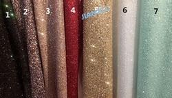 Moda JIANXI.C-121691 africano glitter tecido de renda para festa vestido 5 quintal/lote bordado tule renda com brilho colado