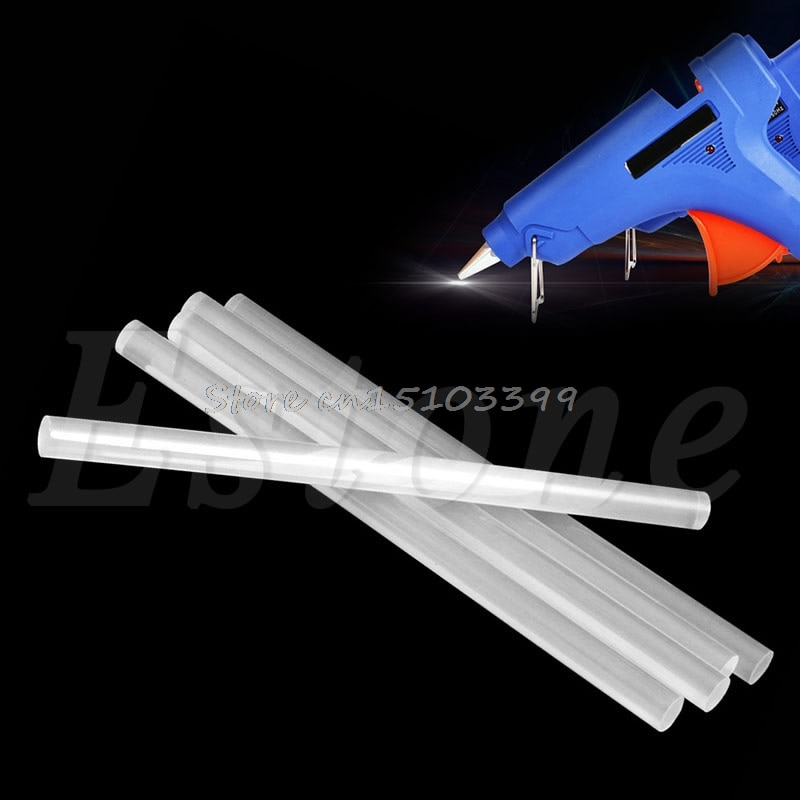 5Pcs 11MM Translucence Hot Melt Glue Stick For Electric Glue Gun Craft Repair Drop Ship