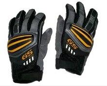 Gants de rallye pour moto pour BMW GS1200 GS   Gants GS pour cyclisme, gants en cuir bleu et Orange