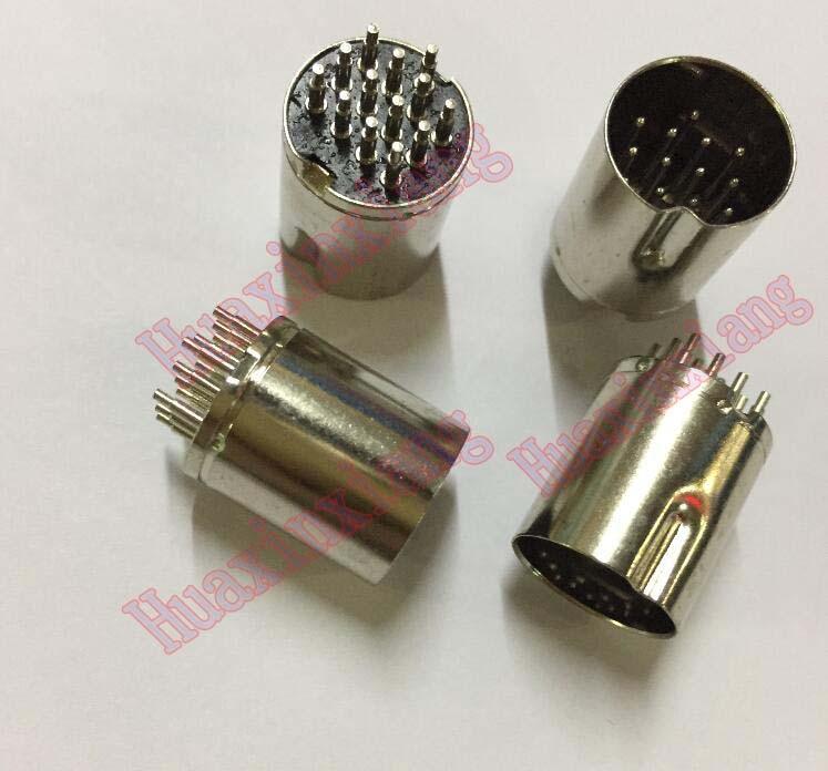 20 Pçs/lote DIN13 DIN Macho Jack/Plug Conector 13P/13PIN
