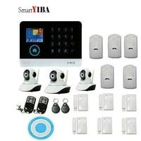 SmartYIBA     systeme dalarme de securite domestique  wi-fi 3G  voix espagnole  francaise  allemande  italienne  controle par application  camera video IP anti-cambriolage