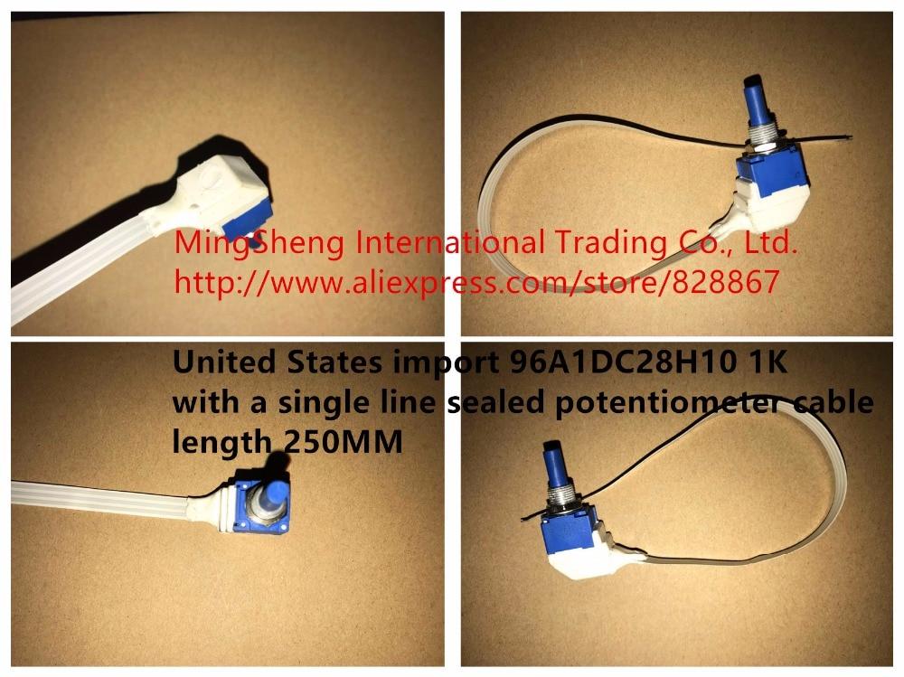 الأصلي الجديد 100% 96A1DC28H10 1K مع خط واحد مختومة الجهد طول الكابل 250 مللي متر 96A1D (التبديل)