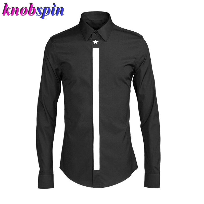 قميص رجالي كاجوال بأكمام طويلة ، 2019 قطن ، مقاس كبير 4XL ، تصميم علامة تجارية ، ملابس رجالية ، نحيف ، غير رسمي ، جودة عالية ، مجموعة جديدة 80%