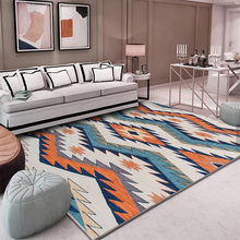 Geometric Bedroom Rugs Big Size 200x300CM Living Room Carpet Rectangle Coffee Table Pastoral Decoration Non-slip Mat