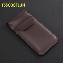 FSSOBOTLUN, pour Samsung Galaxy s8 s9 + note10 + NOTE 9 note 8 pochette étui fait main étui de protection complet avec couvercle