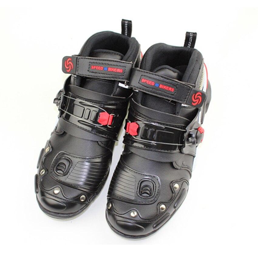 Мотоциклетные гоночные ботинки защитная обувь для мотоциклов лодок велосипедов