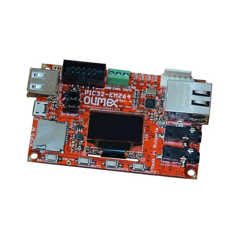 1 stücke x PIC32-EMZ64 PIC DSPIC MIPS32 Entwicklung Board mit PIC32MZ2048EFH064 MCU