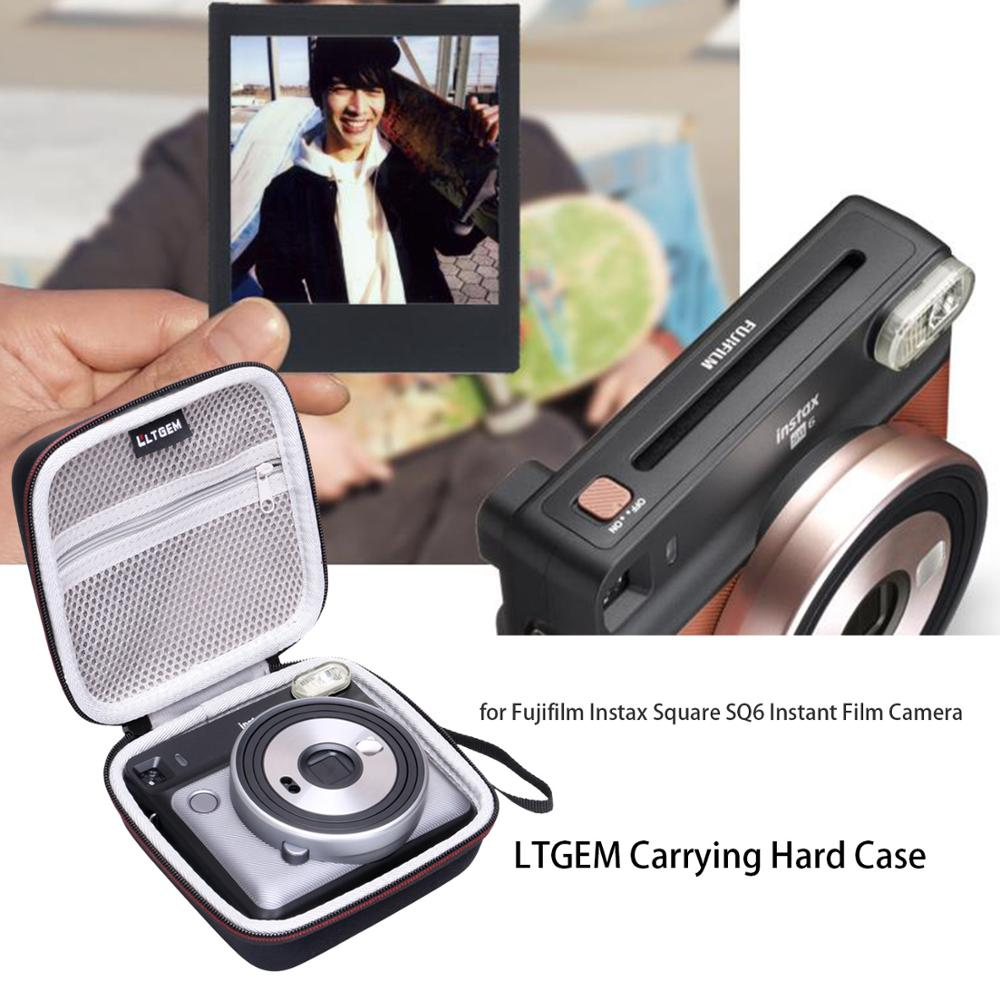 LTGEM EVA Harte Reise Fall passt Fujifilm Instax Platz SQ6-Instant Film Kamera