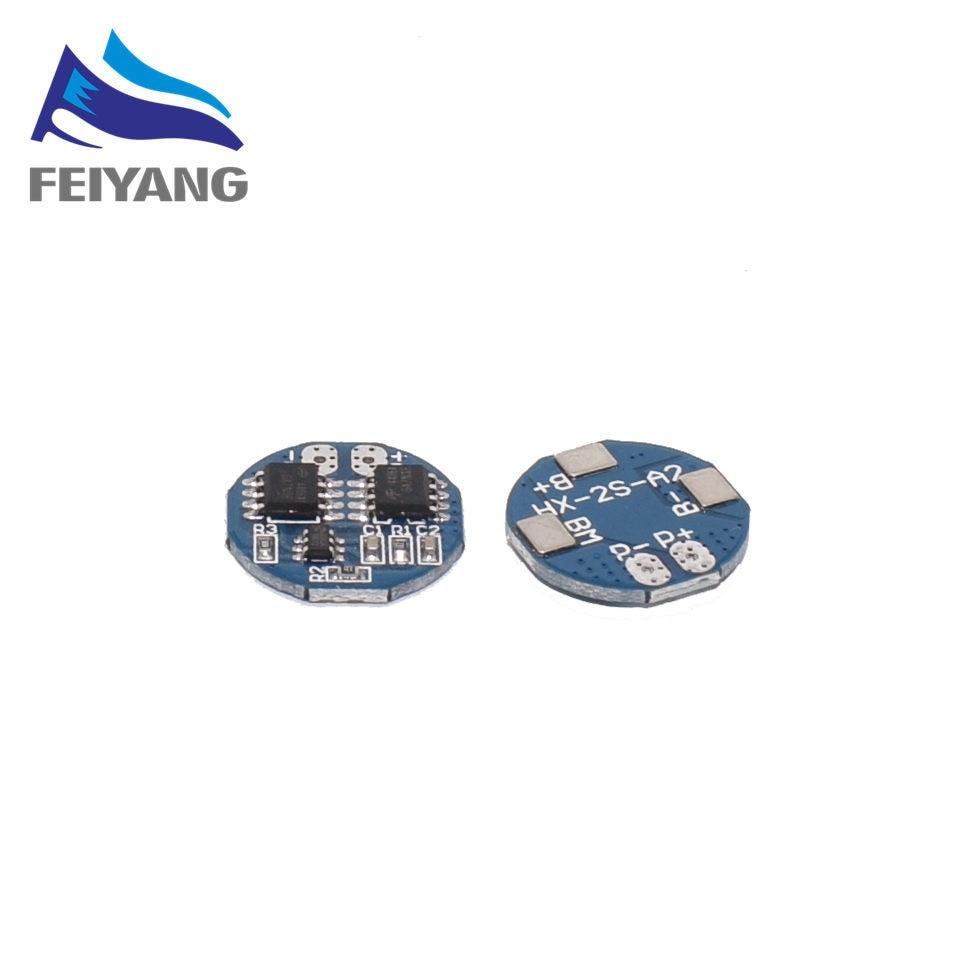 10PCS 2S 5A Li-Ion Lithium-Batterie 7,4 v 8,4 V 18650 Ladegerät Schutz Bord bms pcm für li-ion lipo batterie zelle pack