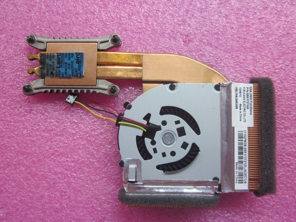 جديد حقيقي لينوفو ثينك باد T420S T430 T430S وحدة المعالجة المركزية مروحة التبريد ومبرد 04W3485
