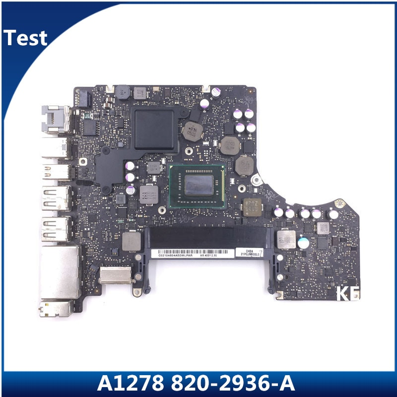 لوحة أم متكاملة لعام 2011 A1278 للكمبيوتر المحمول Macbook Pro 13