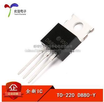 Транзистор D880 KSD880Y TO-220 NPN транзистор 3A 60 В, 1 шт./лот