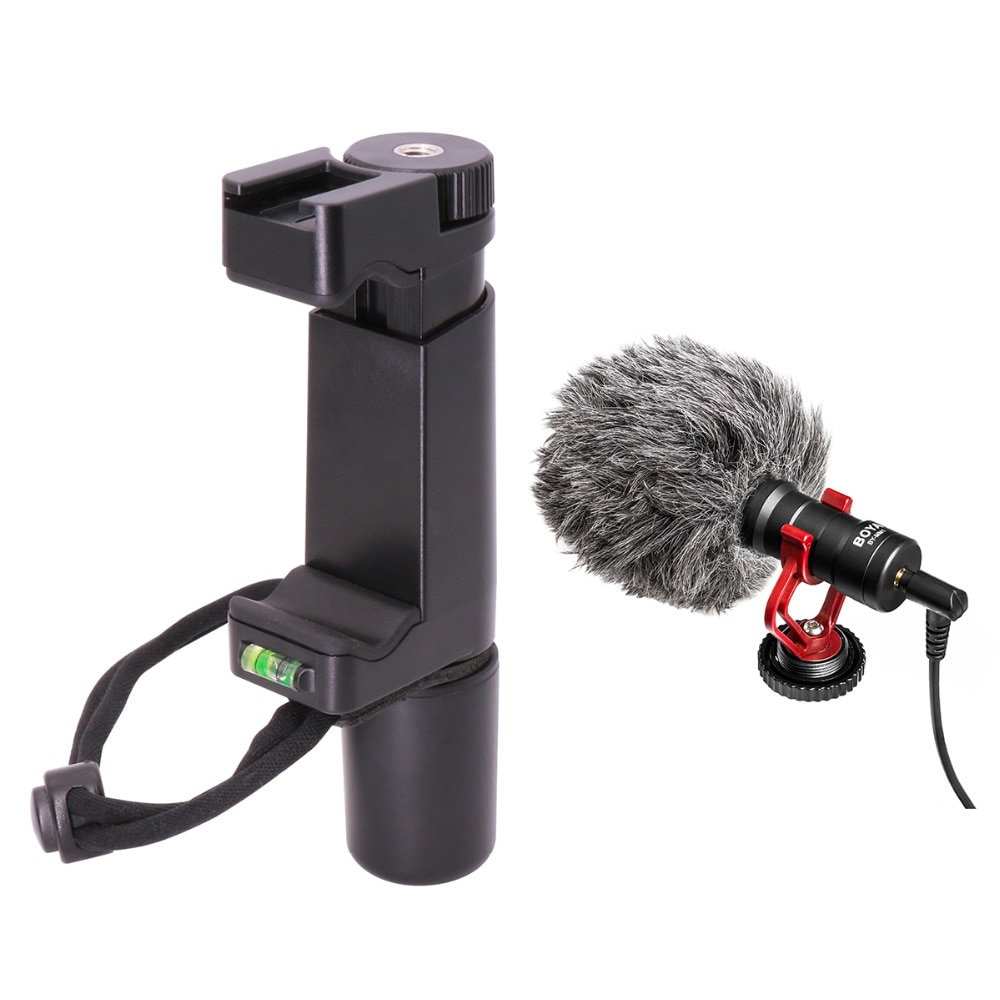 Ulanzi BOYA BY-MM1 Shotgun Microphone Video Interview Mic for DSLR Camera/Camcorder iPhone7 6 Andriod Smartphone Compact Design enlarge
