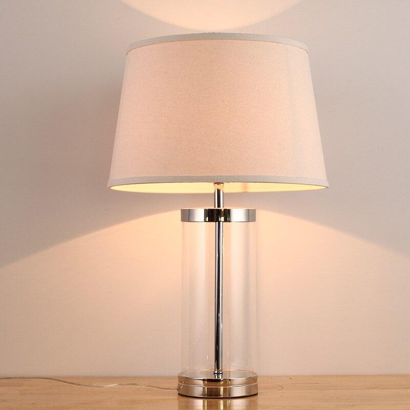YOOK 33*53 см Американская стеклянная простая настольная лампа Модная креативная для