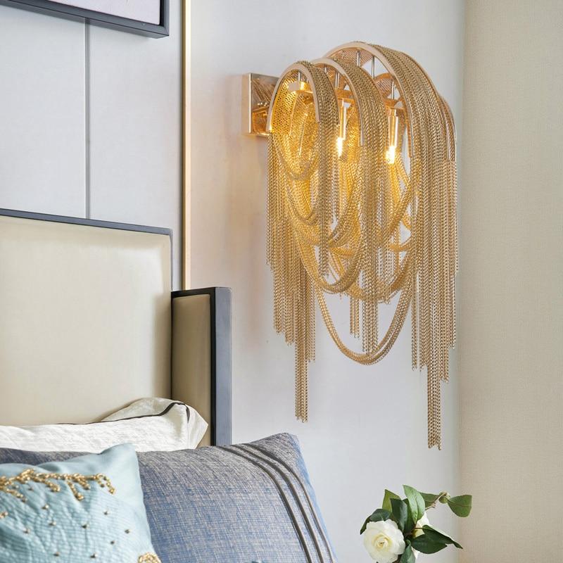 مصباح حائط إيطالي فاخر من lego ، مصباح مرآة ، مصباح حمام ، مصباح غرفة نوم ، ديكور علوي