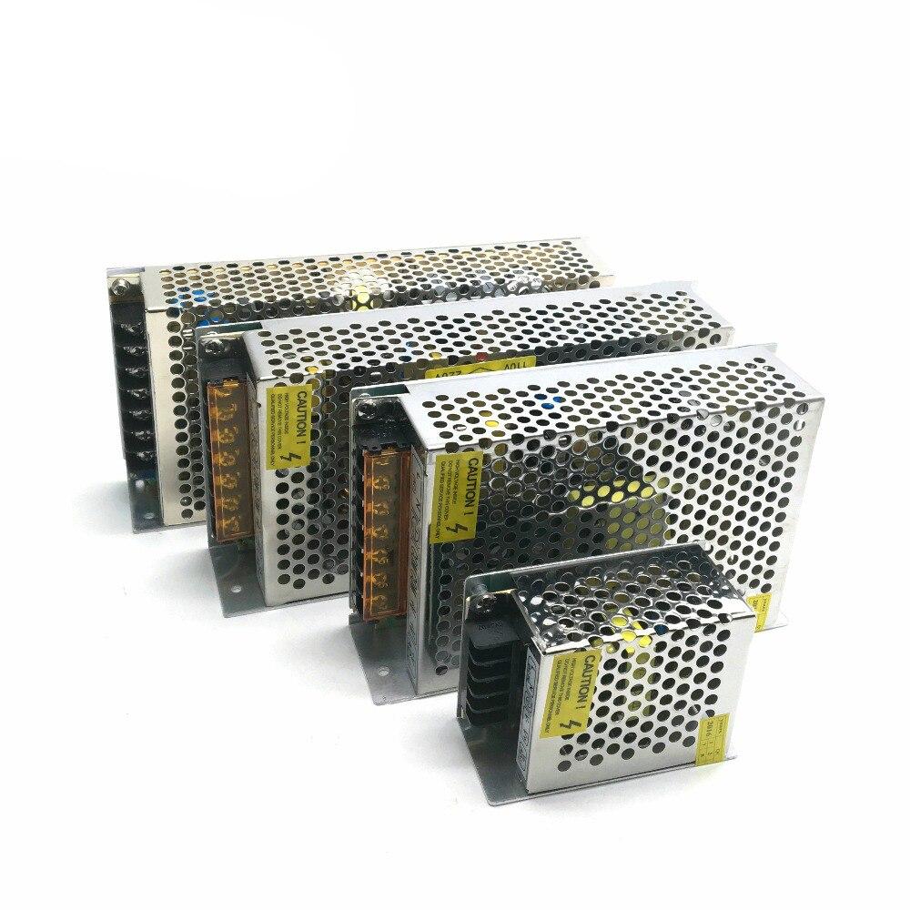 Блок питания для светодиодных лент, 12 В, трансформатор AC220-12 В, 12 Вт, 24 Вт, 60 Вт, 120 Вт, 200 Вт, 240 Вт, 360 Вт