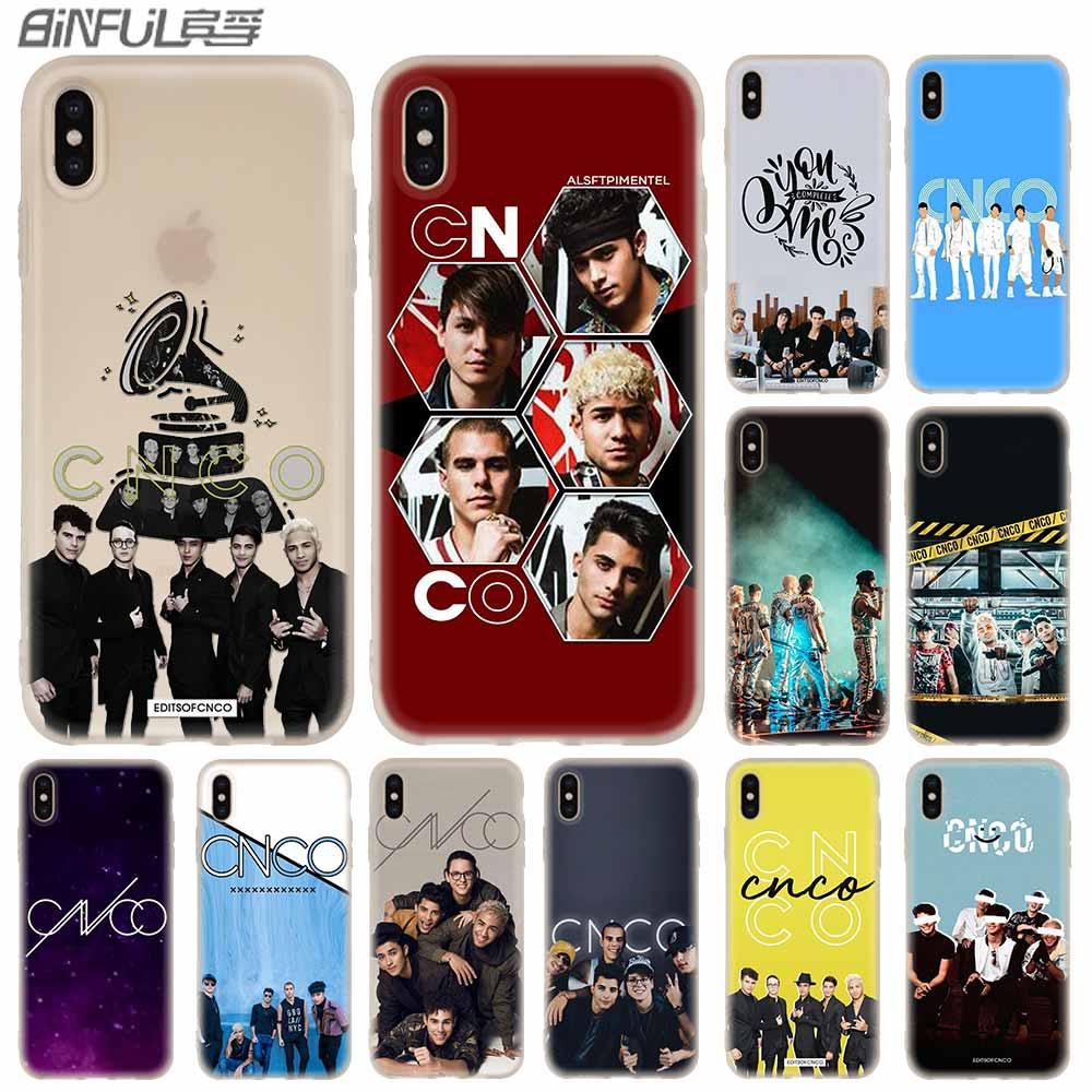 Чехлы для телефонов силиконовый мягкий чехол для iPhone 11 Pro X XS Max XR 6 6S 7 8 Plus 5 4S SE CNCO Christopher Velez Funda Etui Case