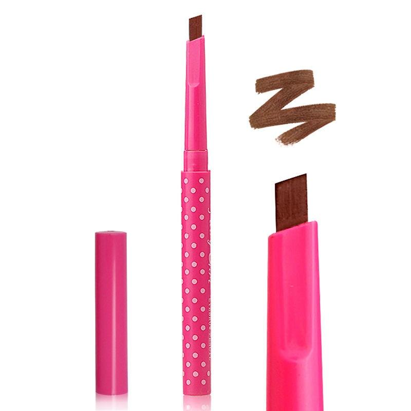 Cores 24 5 Horas Long-lasting Lápis de Sobrancelha Macio E Suave Maquiagem Dos Olhos Da Moda Belas Definição Angled Brow Shaper