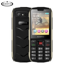 SERVO H8 Mobile Phone 2.8inch 4 SIM card 4 standby Bluetooth Flashlight GPRS 3000mAh Power Bank Phon