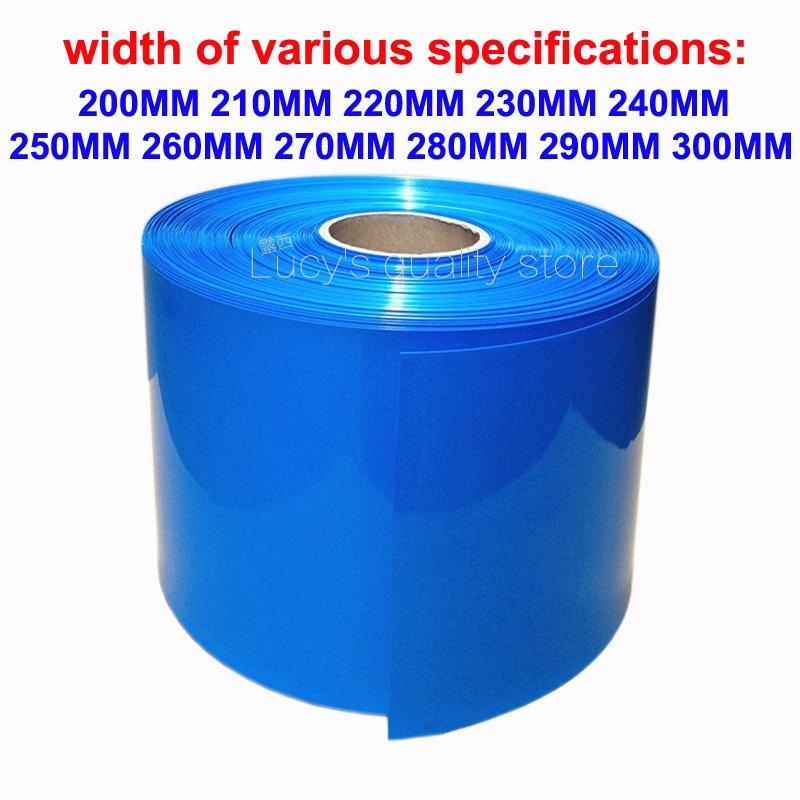 1M 18650 Lithium Battery PVC Heat Shrink Tubular Battery Cover PVC Heat Shrink Film Insulation Shrink Leather