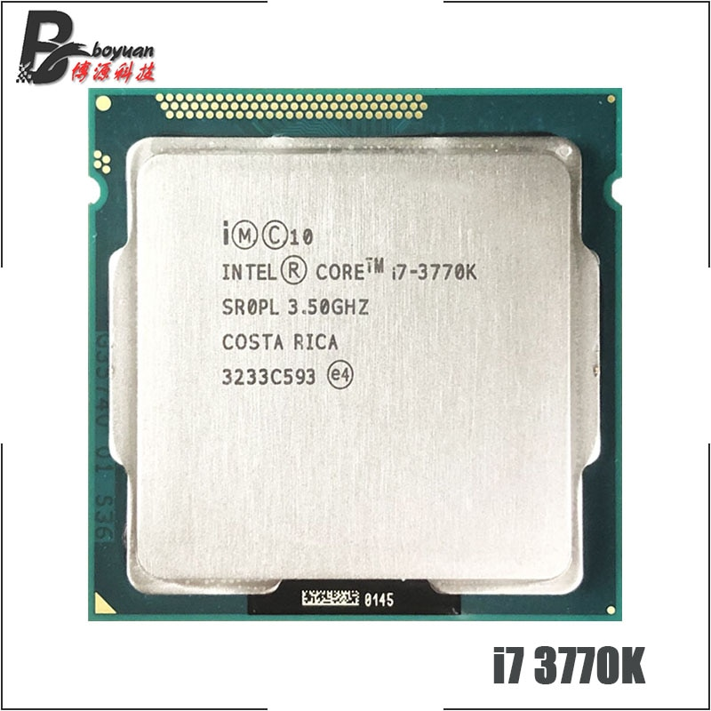 Intel Core i7-3770K  i7 3770K 3.5 GHz Quad-Core CPU Processor 8M 77W LGA 1155