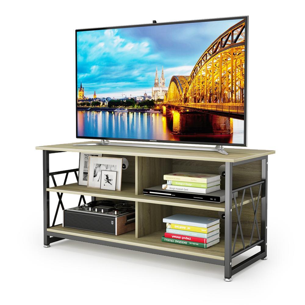Деревянная ТВ подставка DEWEL Современная многофункциональная домашняя мебель
