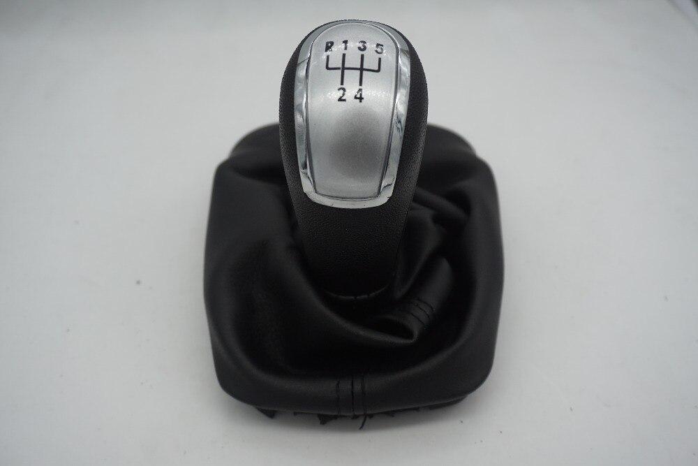 Envío Gratis para Skoda FABIA me MK1 1999-2008 nuevo 5 velocidad de cambio de engranaje de mando de bota de cuero plata tapa 6Y0711113H