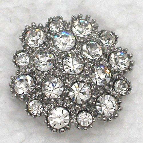 12pcs/lot Wholesale Fashion brooch Rhinestone wedding Bridal Party Prom Small Flower Pin brooches C101664