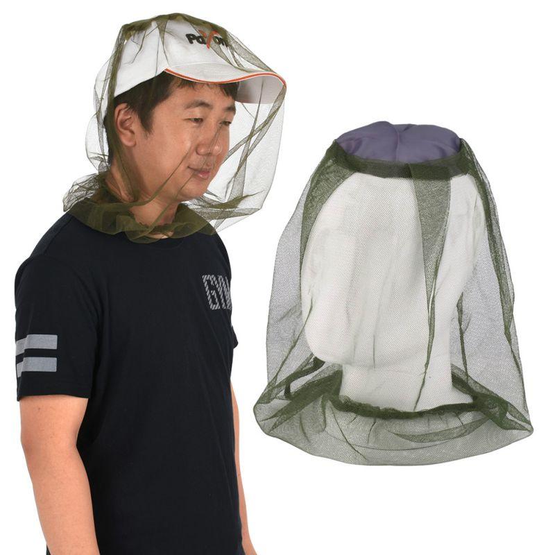 Nuevas llegadas prácticas de viaje Camping Protector Anti Mosquito insecto abeja insecto malla sombrero para la cabeza cara proteger la cubierta de la red