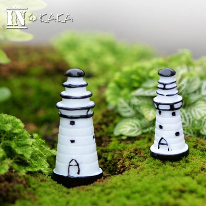 Микро ландшафтное украшение для сада миниатюрная башня модель здания фигурки террариумы/кукольный домик/Аквариум DIY аксессуары