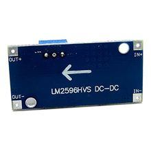 48V einstellbare schritt-down regler modul, DC-DC, LM2596HV eingang, 4,5-60 v power module
