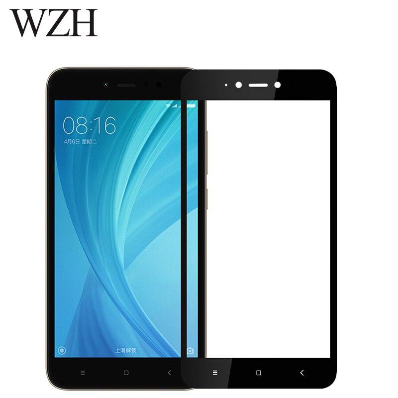 Закаленное стекло для Xiaomi Redmi 4 5 4X 4A 4Pro MiA1 Mi5X Mi6 Mi5 Mi5C 5A Note 5A 16 ГБ 32 ГБ 64 ГБ полное покрытие 9H 2.5D защитная пленка