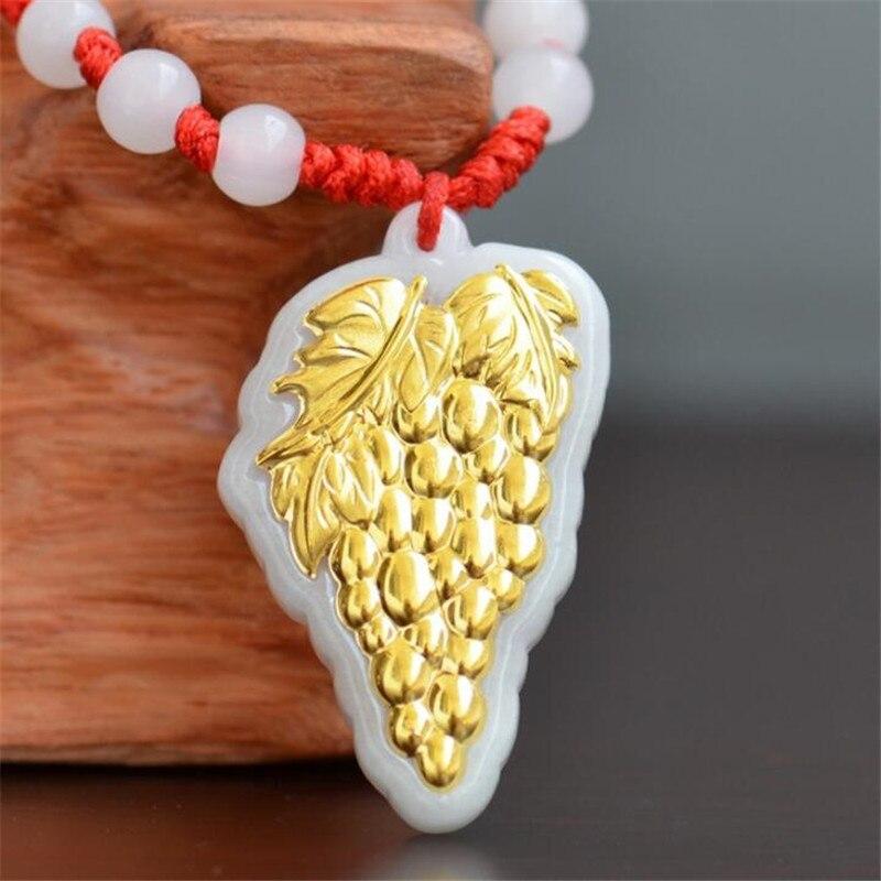Hetian Jade Pendant Top Quality Women Men Jade Pendants Necklace Natural  For Gift Necklaces Jewelry