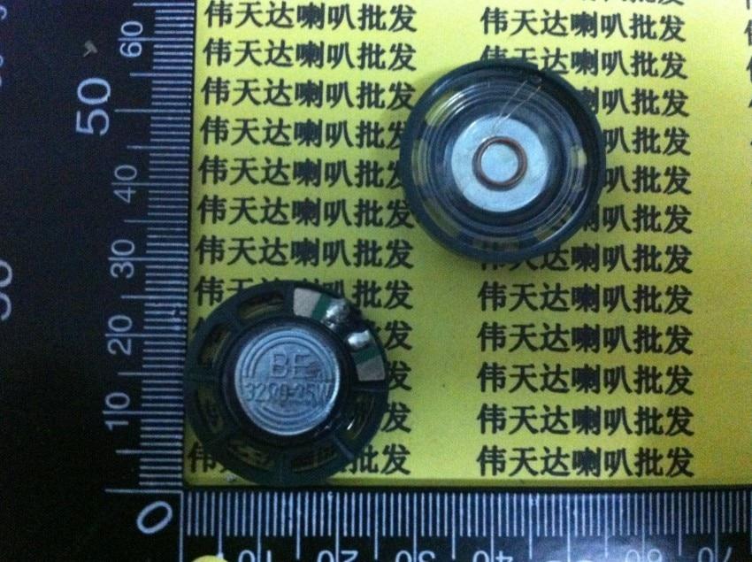 Nuevo altavoz ultradelgado de 32 ohmios 0,25 vatios 32R 0,25 W diámetro 27MM 2,7 CM