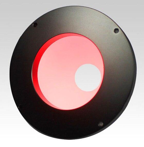 Para iluminación Industrial, lámpara Integral con bola, fuente de luces LED tipo domo, apertura de fuente de luz de cúpula de 65,5mm, lámparas azules blancas