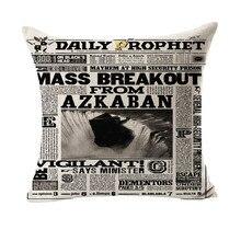 Taie de masseur style Azkaban   Série de prophète quotidien, Design Azkaban, coussin décoratif Vintage, coussins couverture, cadeau de décoration de maison