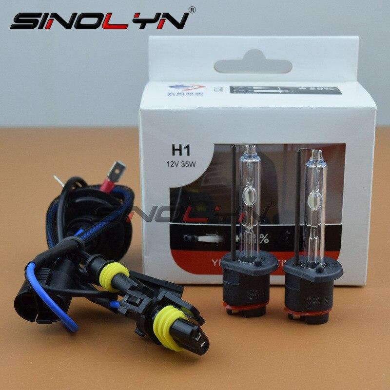Sinolyn для Yeaky H1 H7 D2S H3 9005 9006 H11 HID Xenon Премиум лампа головной светильник противотуманный светильник аксессуары для ламп 35 Вт 4500 к 5500 к 6500 К