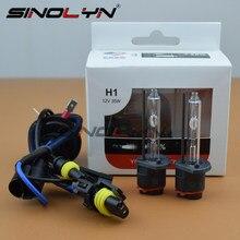 Sinolyn para yeaky h1 h7 d2s h3 9005 9006 h11 hid xenon premium lâmpada farol luz de nevoeiro lâmpadas acessórios 35 w 4500 k 5500 k 6500 k