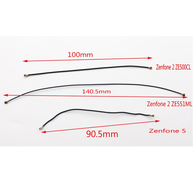 10Pcs/Lot, Original New For Asus Zenfone 2 ZE551ML ZE550ML ZE500CL /Zenfone 5 6 Signal Antenna Coaxial Flex Cable Wire Connector