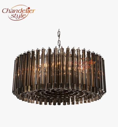 Modern Glass Prism Chandelier Lighting Luxury Chandeliers Glass Hanging Light Fixtures for Home Hotel Restaurant Decoration  - buy with discount
