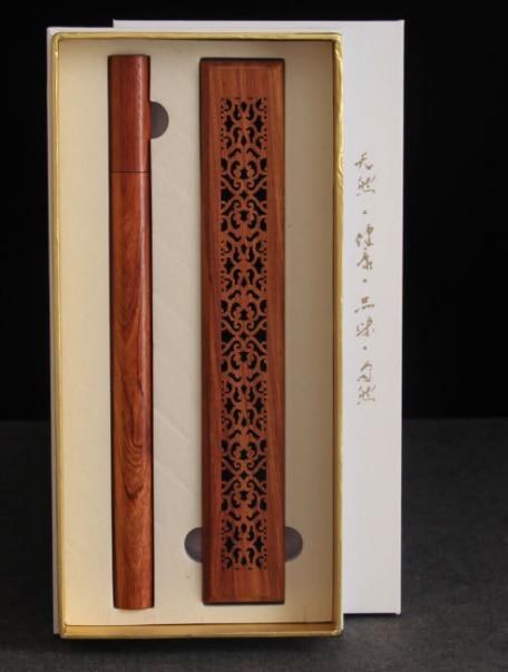 30 مجموعات الطبيعي روزوود الموقد مجموعة مع 40 قطعة العود البخور عصا شحن مجاني