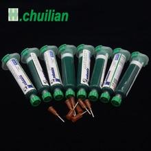 Lehim Maskesi UV İyileştirilebilir Boya Yeşil PCB Yeşil yağ kalem devre boya korumak için