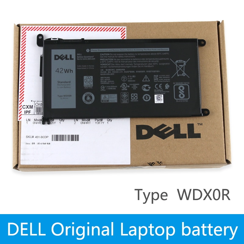 dell Original Laptop Battery For dell Inspiron 14 7000 5567 7560 7472 7460-d1525s 7368 7378 5565 lat