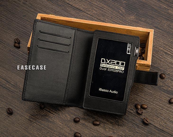 E4 حافظة جلدية أصلية مخصصة لهاتف IBASSO DX200