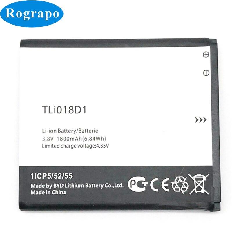 Batería TLi018D1 de 1800mAh para Alcatel One Touch Pop D5 Dual 5038x OT5038X Pop 3 5015D OT 5016 batería de batería