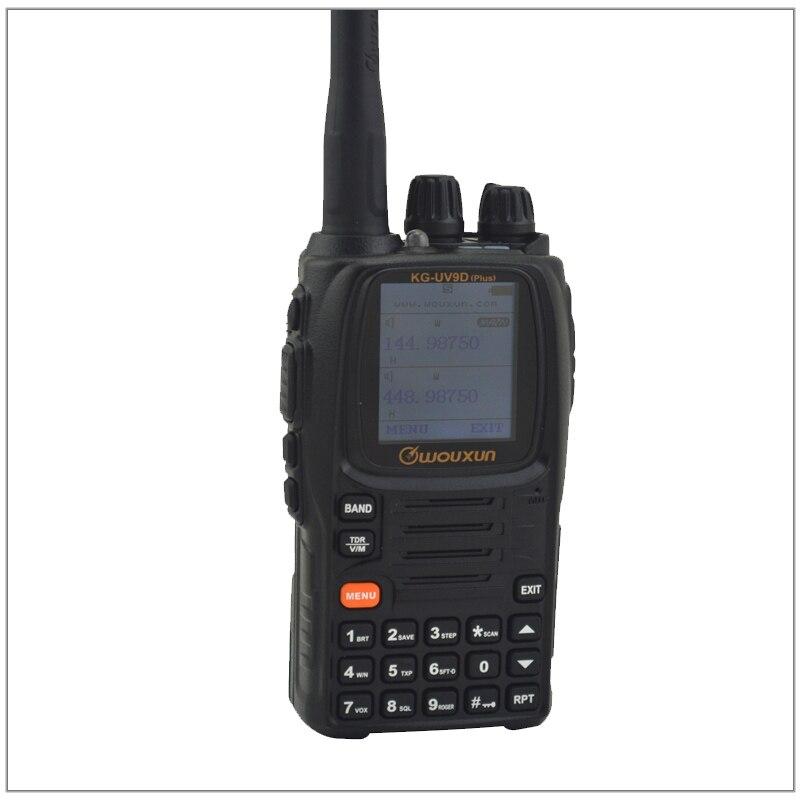Walkie talkie WOUXUN KG-UV9D Plus VHF 136-174MHz & UHF 400-512MHz двухдиапазонный радиоприемник (дуплексный режим) двухдиапазонный TX,SEVEN BANDS RX