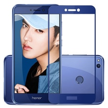 Protective Glass On For Honor 8 lite light Screen Protector Tempered Glass on honer 8lite Full Cover